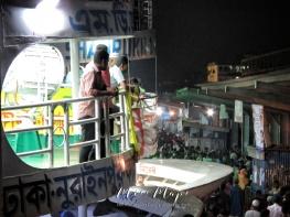 Waiting for the Rocket Steamers to Depart - Dhaka to Sundarbans Bangladesh - by Anika Mikkelson - Miss Maps - www.MissMaps.com