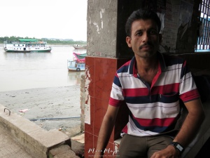 Boat Keeper - Mongla Bangladesh - by Anika Mikkelson - Miss Maps - www.MissMaps.com