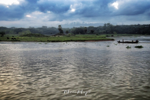 Views from the Boat - Dhaka to Sundarbans Bangladesh - by Anika Mikkelson - Miss Maps - www.MissMaps.com