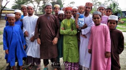 Boys After School Outside the Madrasa - Mongla Bangladesh - by Anika Mikkelson - Miss Maps - www.MissMaps.com