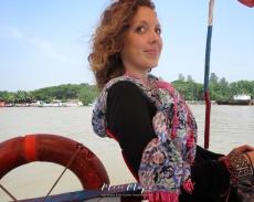 Miss Maps Mapping the Sundarbans - Boat to Sundarbans from Mongla Bangladesh - by Anika Mikkelson - Miss Maps - www.MissMaps.com