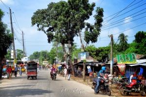 Motorbike Ride en route to Mongla Bangladesh - by Anika Mikkelson - Miss Maps - www.MissMaps.com
