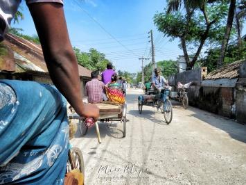 Rickshaw Ride through Mongla Bangladesh - by Anika Mikkelson - Miss Maps - www.MissMaps.com
