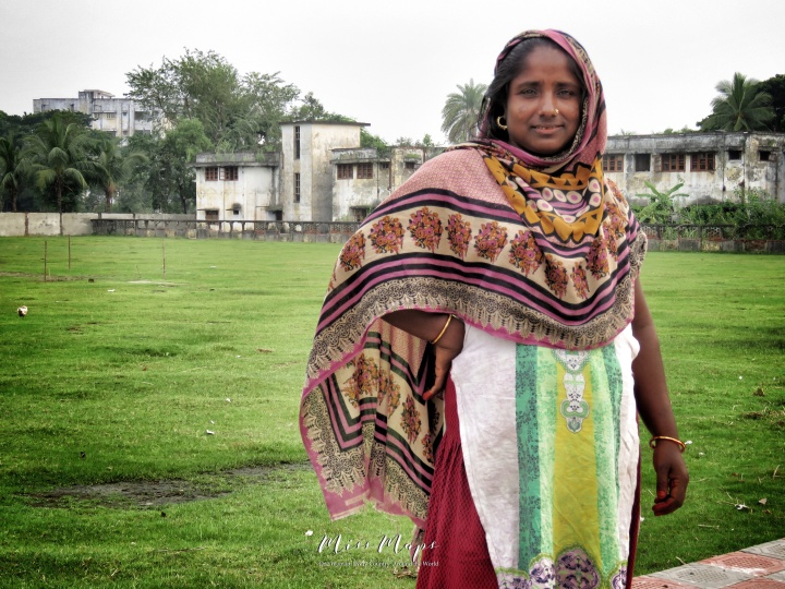 She Didn't Believe She Was Beautiful Enough for a Photo - Woman in Mongla Bangladesh - by Anika Mikkelson - Miss Maps - www.MissMaps.com
