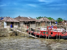 The Riverside Red Light District - Boat Ride From Sundarbans to Mongla Bangladesh - by Anika Mikkelson - Miss Maps - www.MissMaps.com