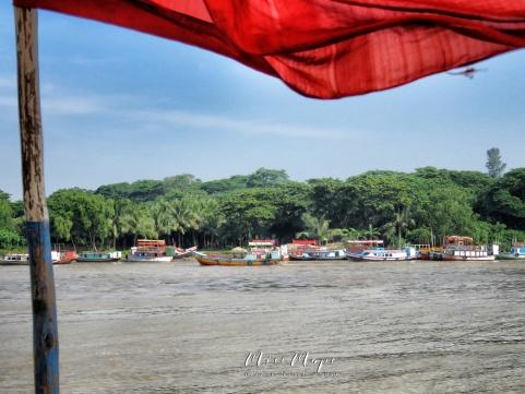 Plastic Chairs and Wooden Boats - Sundarbans Near Mongla Bangladesh - by Anika Mikkelson - Miss Maps - www.MissMaps.com