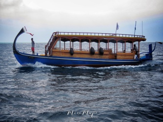 Boating in the Indian Ocean Maldives - by Anika Mikkelson - Miss Maps - www.MissMaps.com