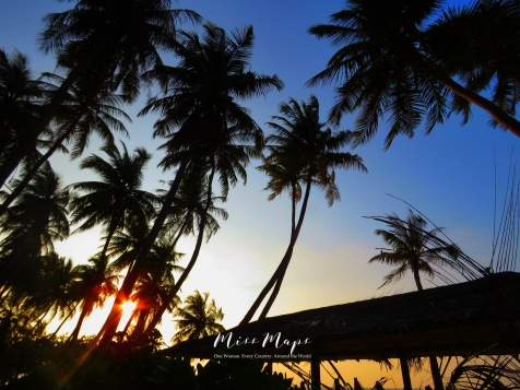 Dusk on Bikini Beach - Maafushi Maldives - by Anika Mikkelson - Miss Maps - www.MissMaps.com