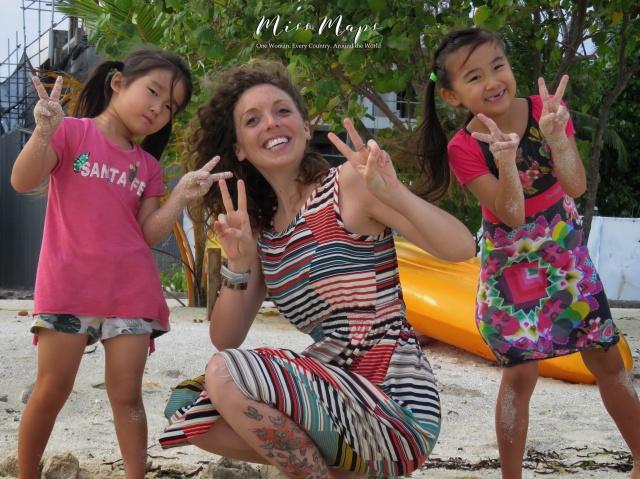 Making New Friends - Maafushi Maldives - by Anika Mikkelson - Miss Maps - www.MissMaps.com