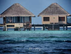 Overwater Bungalow- Indian Ocean - Maldives - by Anika Mikkelson - Miss Maps - www.MissMaps.com