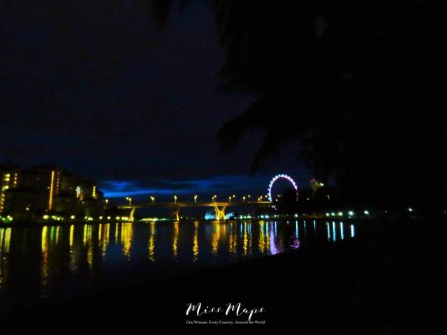 Singapore's Skyline in Early Morning - by Anika Mikkelson - Miss Maps - www.MissMaps.com
