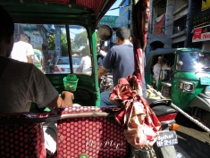 Tuk Tuk Road Rage - Sylhet Bangladesh - by Anika Mikkelson - Miss Maps - www.MissMaps.com
