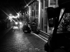 TukTuks at Night - Old Town Galle Sri Lanka - by Anika Mikkelson - Miss Maps - www.MissMaps.com