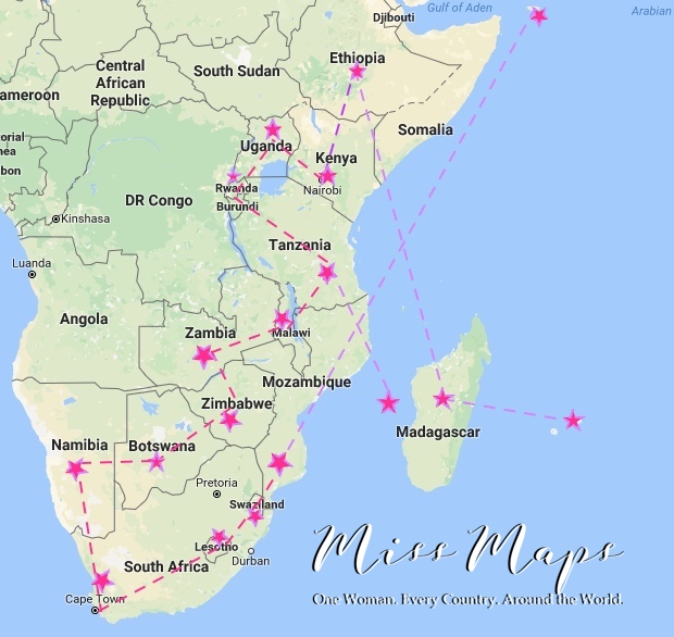 Africa - Miss Maps Travel Plans