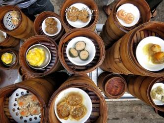 Dim Sum Street Vendor - Chinatown - Yangon Myanmar - by Anika Mikkelson - Miss Maps - www.MissMaps.com