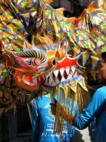 Dragon Dancers - Chinatown - Yangon Myanmar - by Anika Mikkelson - Miss Maps - www.MissMaps.com
