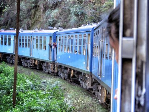Fast Track Photos - View From the Train - Ella to Kandy Sri Lanka - by Anika Mikkelson - Miss Maps - www.MissMaps.com