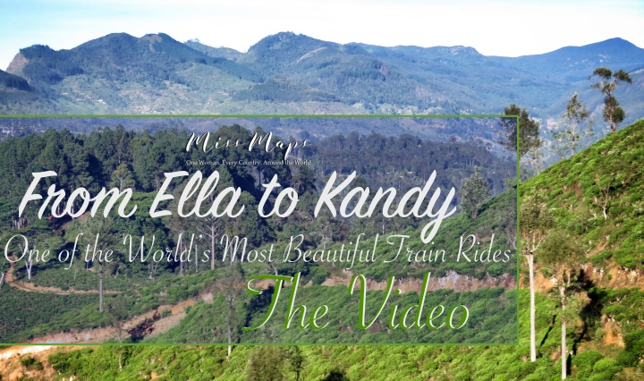 From Ella to Kandy by Miss Maps - www.MissMaps.com