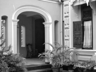 Front Entryway - Galle Sri Lanka - by Anika Mikkelson - Miss Maps - www.MissMaps.com
