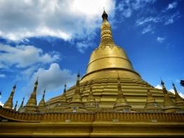 Golden Stuppas of Shwemawdaw Pagoda - Pagu Bago Myanmar - by Anika Mikkelson - Miss Maps - www.MissMaps.com copy