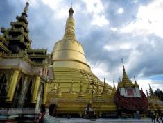 More Photos of Shwemawdaw Pagoda - Pagu Bago Myanmar - by Anika Mikkelson - Miss Maps - www.MissMaps.com copy