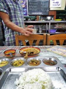 My favorite Indian Restaurant - New Delhi - Yangon Myanmar - by Anika Mikkelson - Miss Maps - www.MissMaps.com
