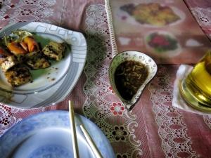 My first (mini) meal on 19th Street - ChinaTown - Yangon Myanmar - by Anika Mikkelson - Miss Maps - www.MissMaps.com