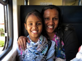 The Mother Daughter Duo who became like family Views from the Train - Ella to Kandy - Sri Lanka - by Anika Mikkelson - Miss Maps - www.MissMaps.com