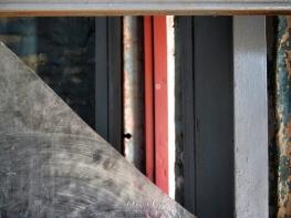 View Through a Broken Window - Secretariat Building - by Anika Mikkelson - Miss Maps - www.MissMaps.com