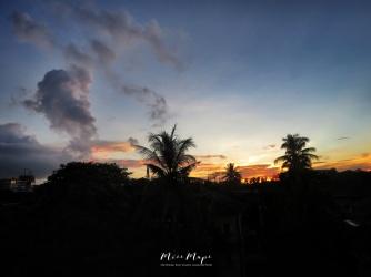 Volcanic Cloud - Yangon Myanmar - by Anika Mikkelson - Miss Maps - www.MissMaps.com