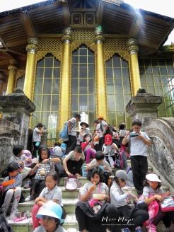 Year 4 Students' Field Trip - Bago Palace- Bago Pagu Myanmar - by Anika Mikkelson - Miss Maps - www.MissMaps.com