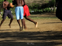 Barefoot Basketball Practice - Rusinga Island, Kenya - by Anika Mikkelson - Miss Maps - www.MissMaps.com