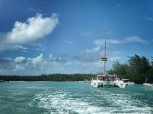 Boating in Mauritius - Ile aux Cerfs - Mauritius - by Anika Mikkelson - Miss Maps - www.MissMaps.com