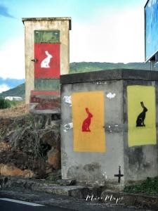 Bunny Buildings - Mauritius - by Anika Mikkelson - Miss Maps - www.MissMaps.com