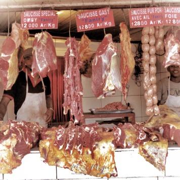 Butchers from the Street - Antananarivo Madagascar - Tana Mada - by Anika Mikkelson - Miss Maps - www.MissMaps.com
