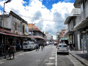 City Streets - Mauritius - by Anika Mikkelson - Miss Maps - www.MissMaps.com