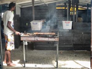 Fresh BBQ - Ile aux Cerfs - Mauritius - by Anika Mikkelson - Miss Maps - www.MissMaps.com