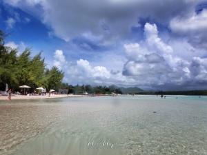 From Water to Mountain - Ile aux Cerfs - Mauritius - by Anika Mikkelson - Miss Maps - www.MissMaps.com