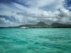 Mauritius from the Water- Ile aux Cerfs - Mauritius - by Anika Mikkelson - Miss Maps - www.MissMaps.com