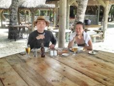 Newlyweds at Ile aux Cerfs - Mauritius - by Anika Mikkelson - Miss Maps - www.MissMaps.com