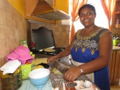 Prepping Dinner - Mauritius - by Anika Mikkelson - Miss Maps - www.MissMaps.com