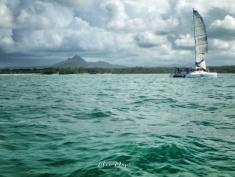 Sailing Mauritius - Ile aux Cerfs - Mauritius - by Anika Mikkelson - Miss Maps - www.MissMaps.com