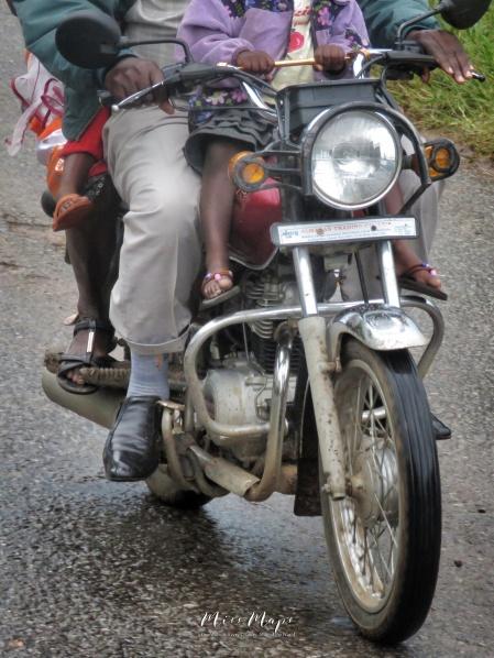 4 Person Motorbike - Uganda - by Anika Mikkelson - Miss Maps - www.MissMaps.com