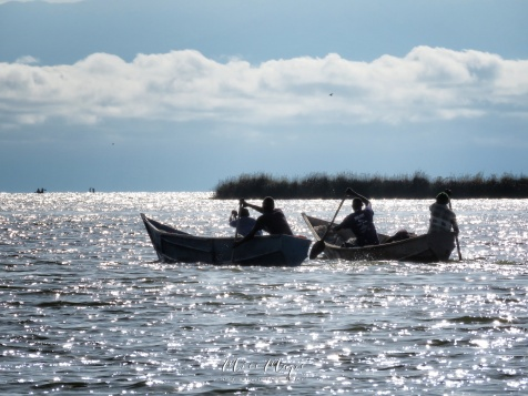 Boating on Kazinga Channel - Queen Elizabeth National Park - Uganda - by Anika Mikkelson - Miss Maps - www.MissMaps.com