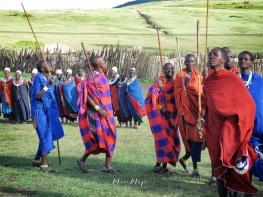 Dancing Masai Tribe - Tanzania - by Anika Mikkelson - Miss Maps - www.MissMaps.com