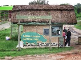 Entering Queen Elizabeth National Park - Uganda - by Anika Mikkelson - Miss Maps - www.MissMaps.com