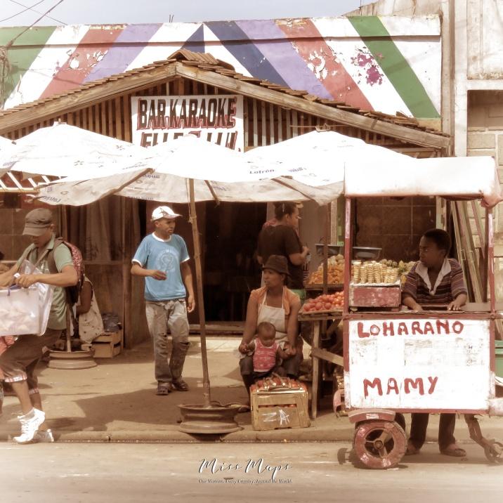 Loharano Mamy - Streets of Antananarivo Madagascar - Tana Mada - by Anika Mikkelson - Miss Maps - www.MissMaps.com