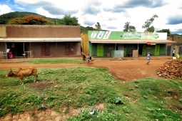 Rural Uganda Small Town - by Anika Mikkelson - Miss Maps - www.MissMaps.com