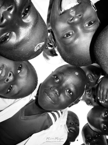 School Boys in Black and White 5- Rucinga Island Kenya - by Anika Mikkelson - Miss Maps - www.MissMaps.com