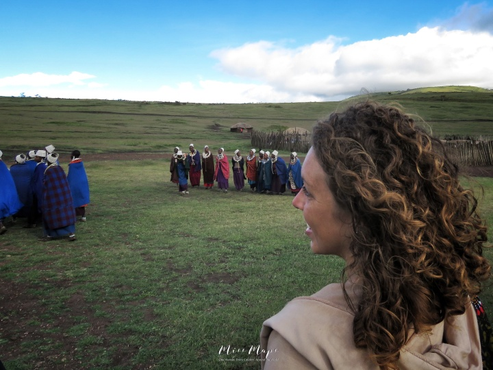 Visiting the Masai Tribe - Tanzania - by Anika Mikkelson - Miss Maps - www.MissMaps.com